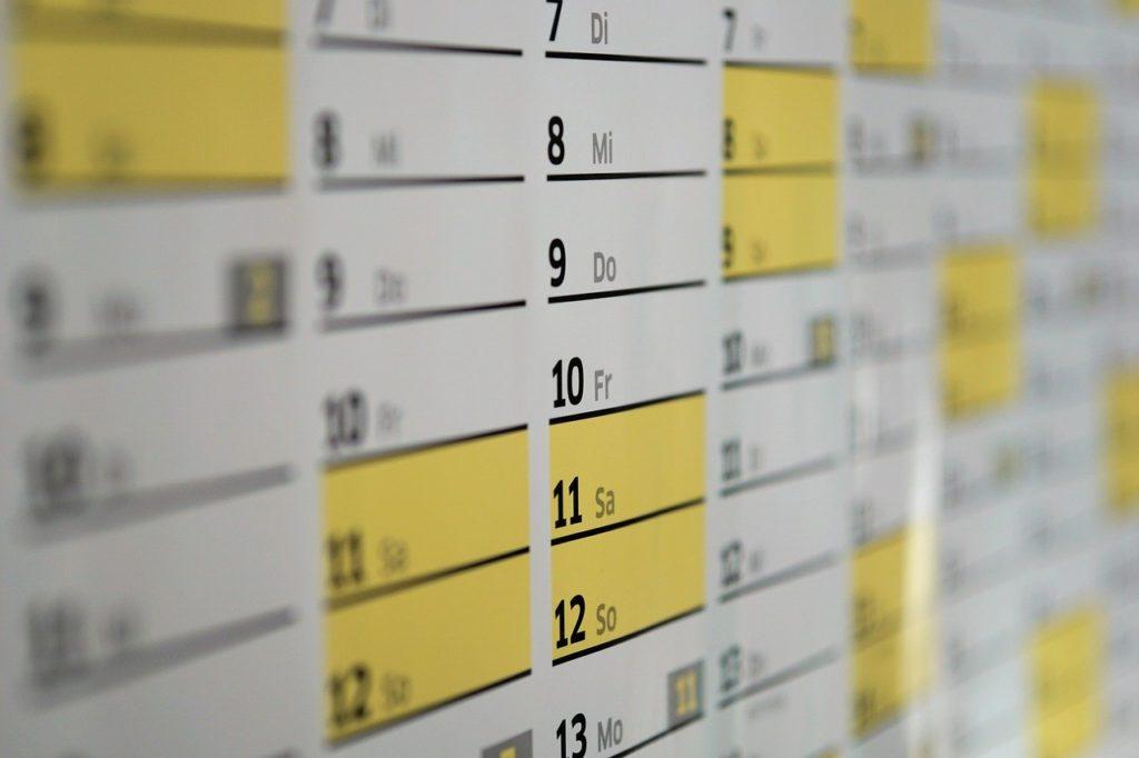 仕事のスケジュール管理ってどうやればいいの?基本的なこと