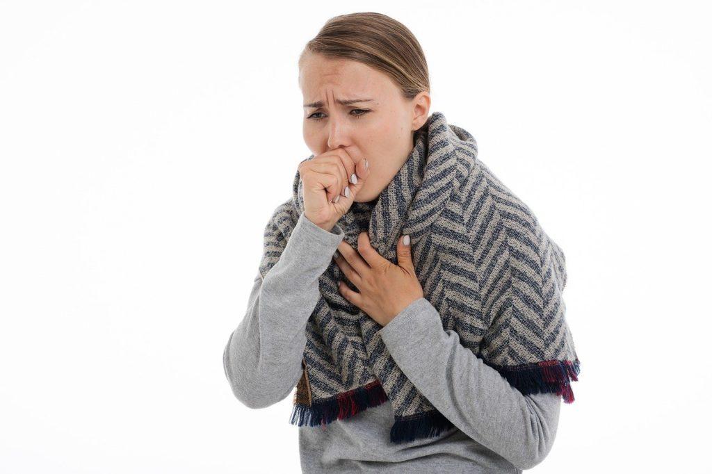 これはただの風邪じゃない?気管支炎の症状