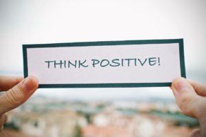 ポジティブ思考をクセづける