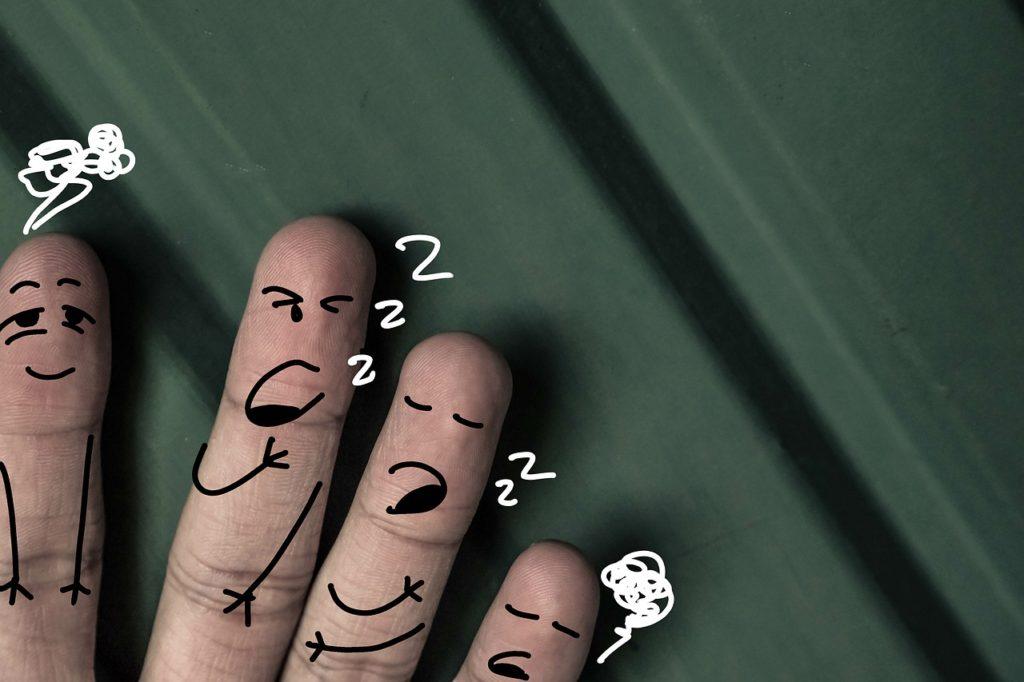 仕事に行きたくないと感じる原因②疲れ・寝不足